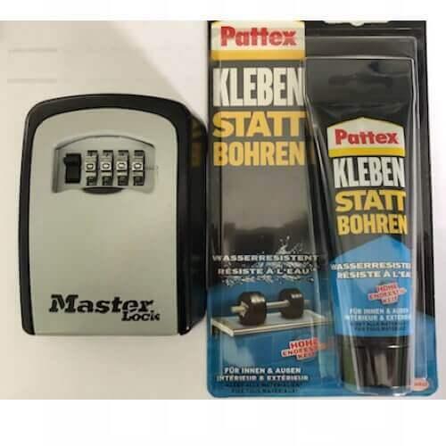 MILKBOX_5401KLEB - Schlüsselsafe mit zahlencode -  Schlüsselsafe für briefkasten