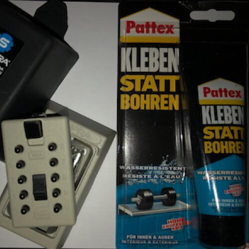 MILKBOX_S5KLEB - Schlüsselsafe für milchkasten - schlüsselsafe magnetische