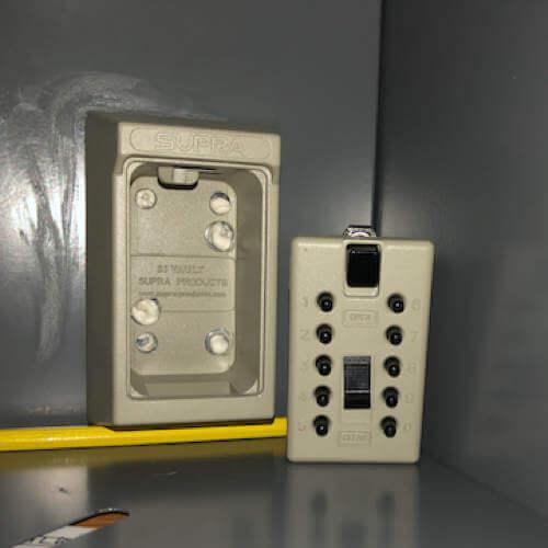 MILKBOX_S5KLEB,Schlüsselsafe außen - schlüsselsafe magnetische