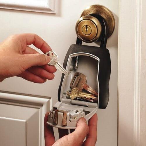 MLK5400D, Schlüsselsafe für briefkasten - Schlüsselsafe außen