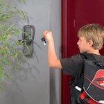 Masterlock Schlüsselbox  : MLK5415 ausgelegt, an einer Wand