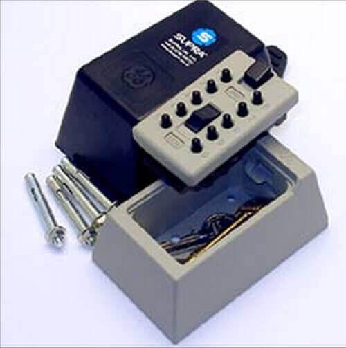 SUPRAS5,Schlüsselsafe für milchkasten - Schlüsselsafe für milchkasten