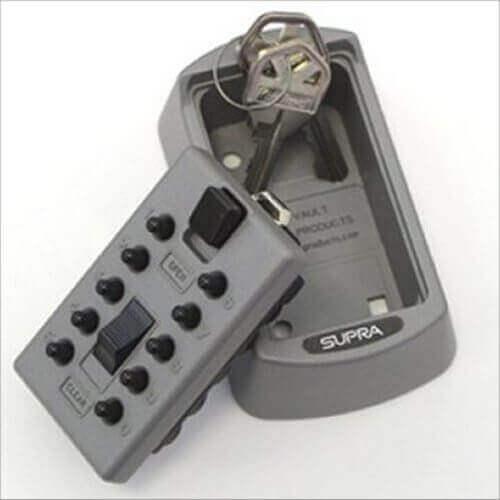 SUPRAS6 - Schlüsselsafe außen - Schlüsselsafe mit code